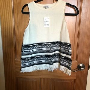 Madewell Sweater Tank Size M